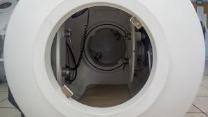 inside of hyperbaric treatment center