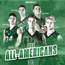 5 Warriors named to All-America volleyball teams