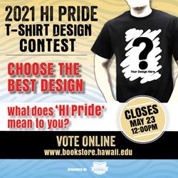 HI Pride T-shirt voting is open!