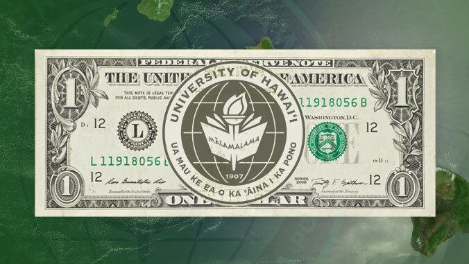u h seal over a dollar