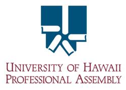 University of Hawaii Professional Assembly logo