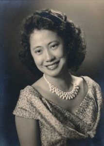 florence chinn black and white portrait
