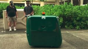 green autonomous vehicle