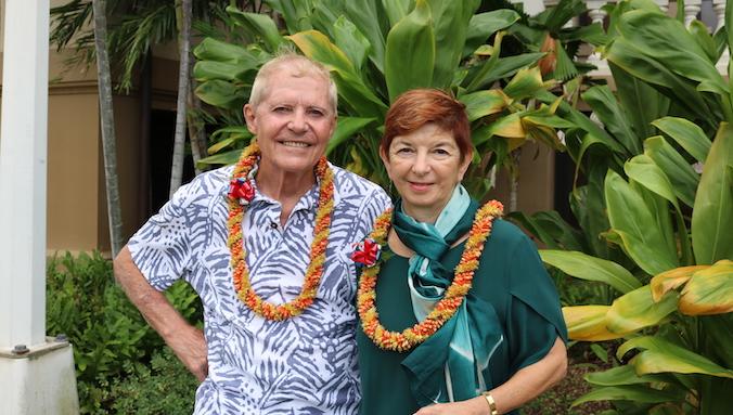 Chuck Miller and Stephanie Marshall