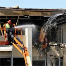 Demolition of Snyder Hall begins