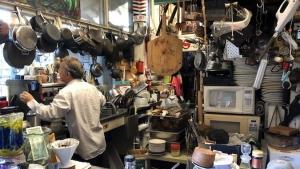 man in the kitchen