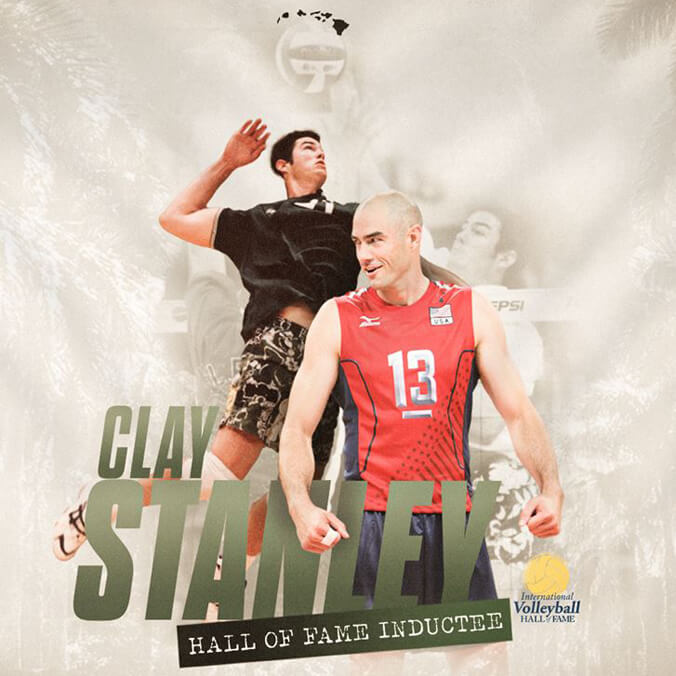 Former Olympian Clay Stanley inducted into Volleyball Hall of Fame