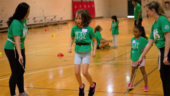 kid jump roping