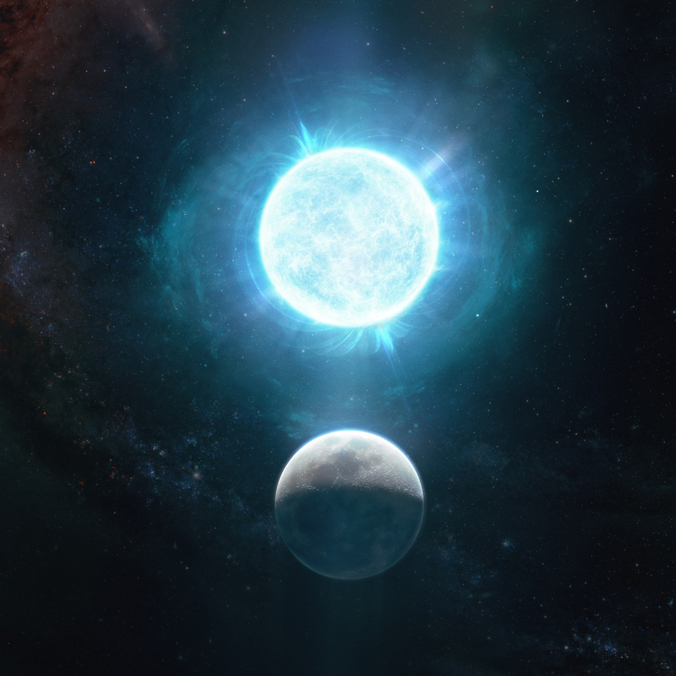 Enormous white dwarf deciphered with help of Hawaiʻi telescopes
