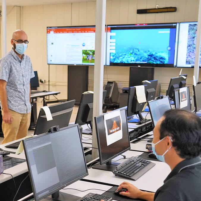 UH Hilo students improve AI for live fish tracking, more