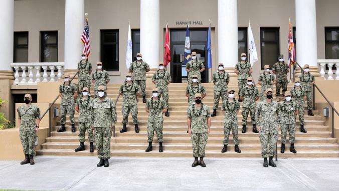 UH Mānoa welcomes 1st NROTC midshipmen
