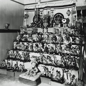 Japanese doll display