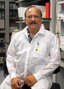vivek nerurkar in his lab