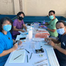 Researchers train Indonesian scientists in fish reproductive analyses