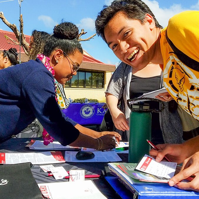 Virtual one-stop-shop for UH Community College students to transfer