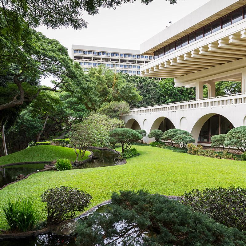 UH Manoa Japanese Garden
