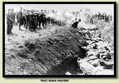 Nazi mass murder