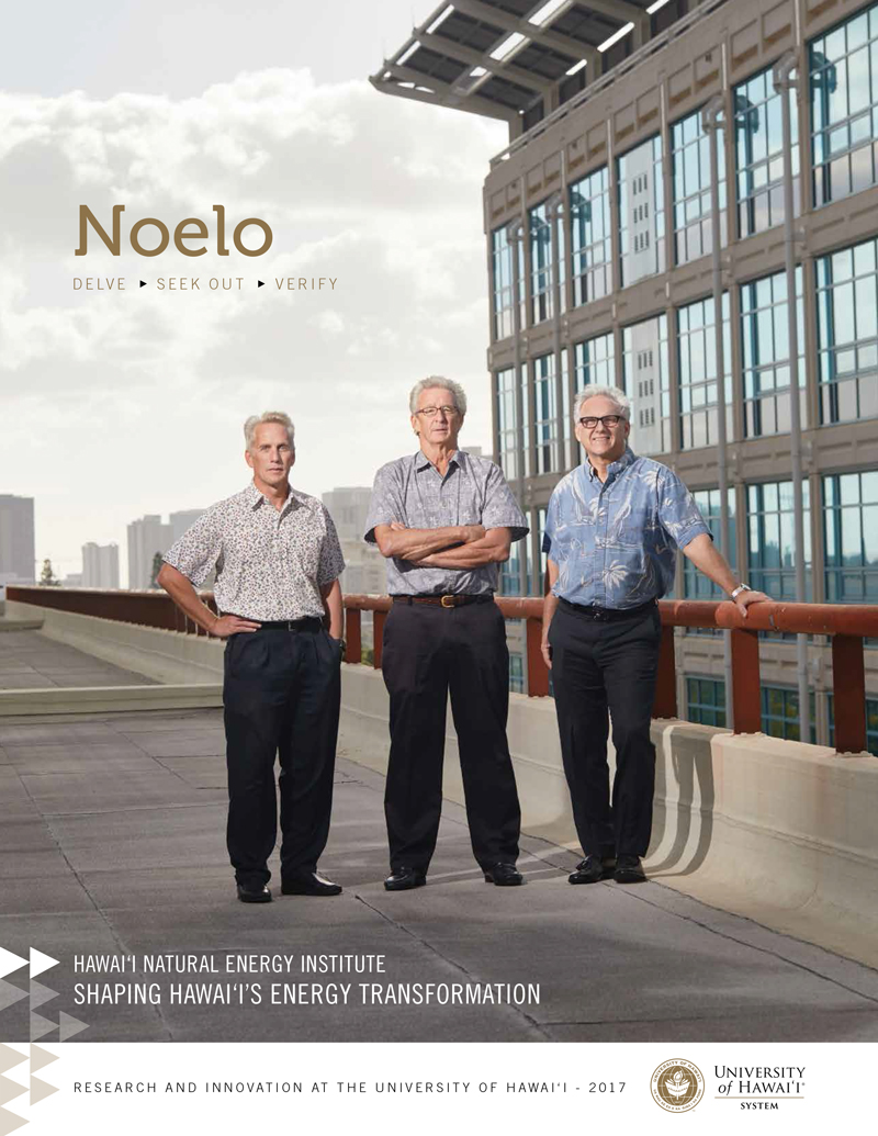 Noelo: University of Hawai'i System Research Magazine