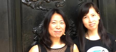 Photo of Dr. Dongping Zheng and Dr. Aitao Lu