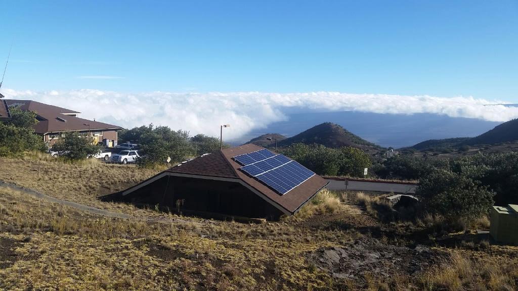 Photo Of Maunakea Mid Level Facility Photo Voltaic System