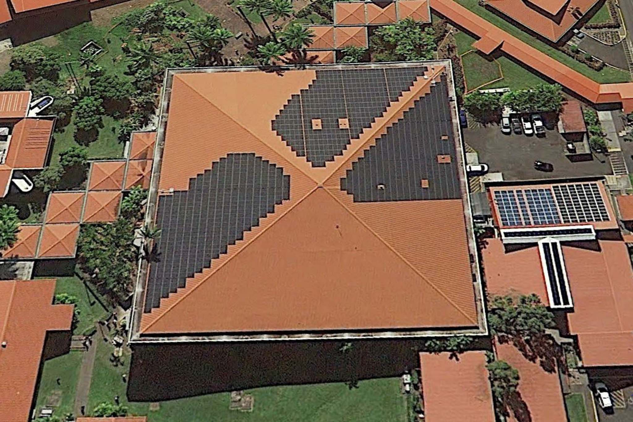 Photo Of University Of Hawaii At Hilo Mookini Library Photo Voltaic System