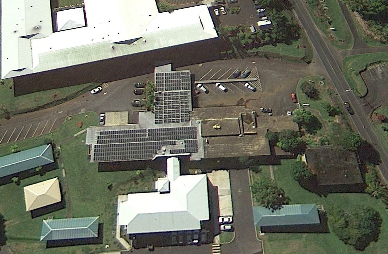 Photo Of University Of Hawaii At Hilo North Hawaii Education And Research Center Photo Voltaic System