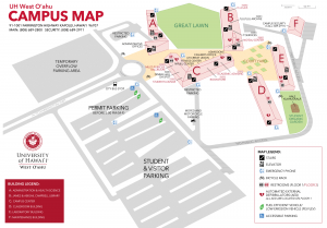 UHWO campus map