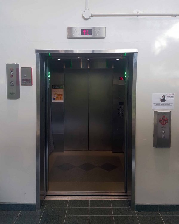Elevator Renovated And Efficient