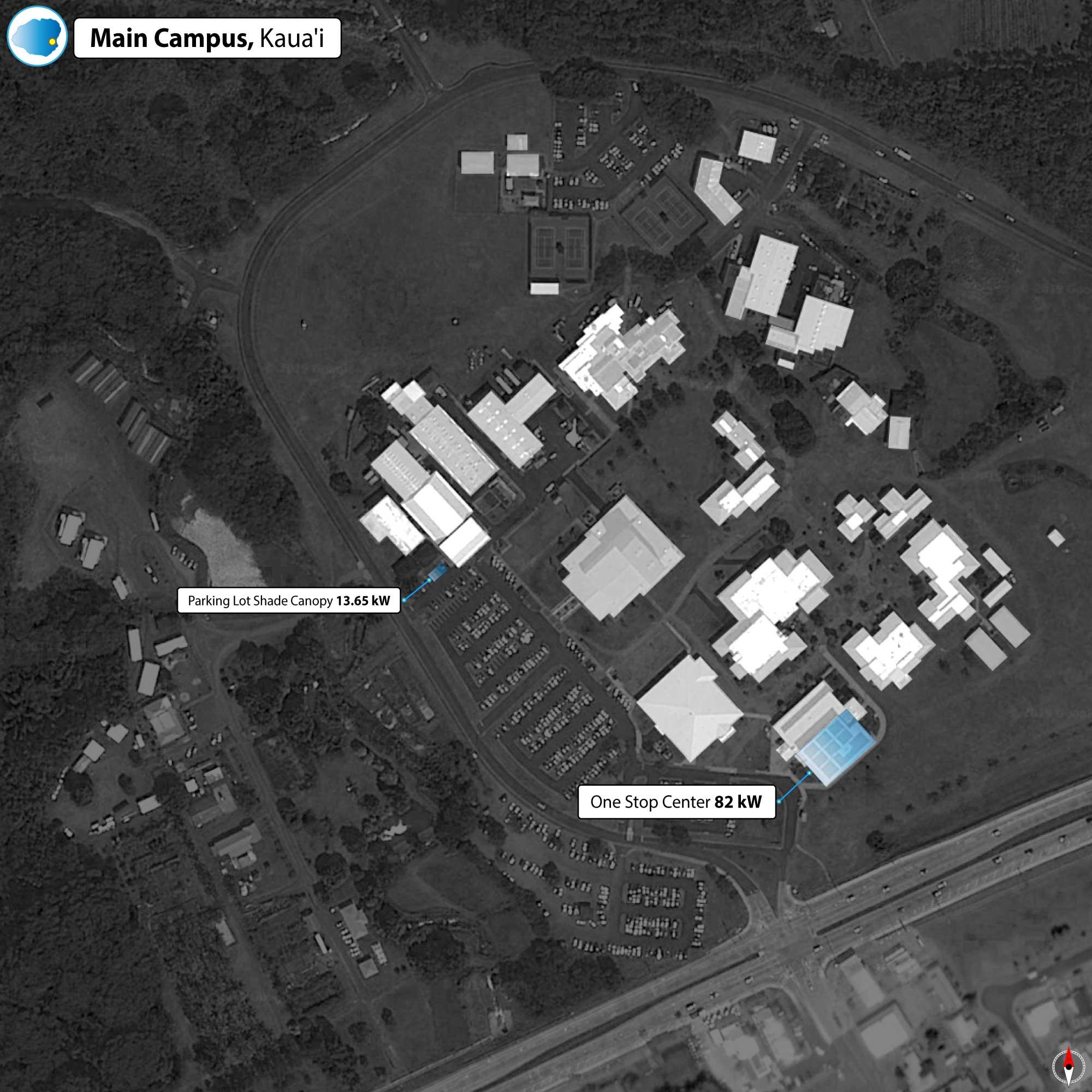 Kauai Community College PV Map