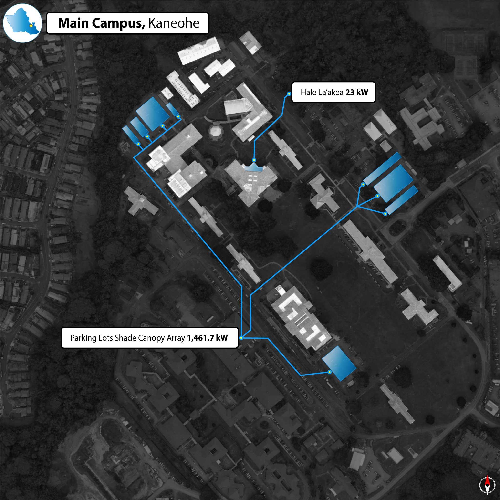 Windward Community College PV Map