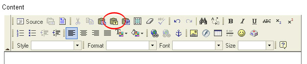 how to get rid of icon after paste in word