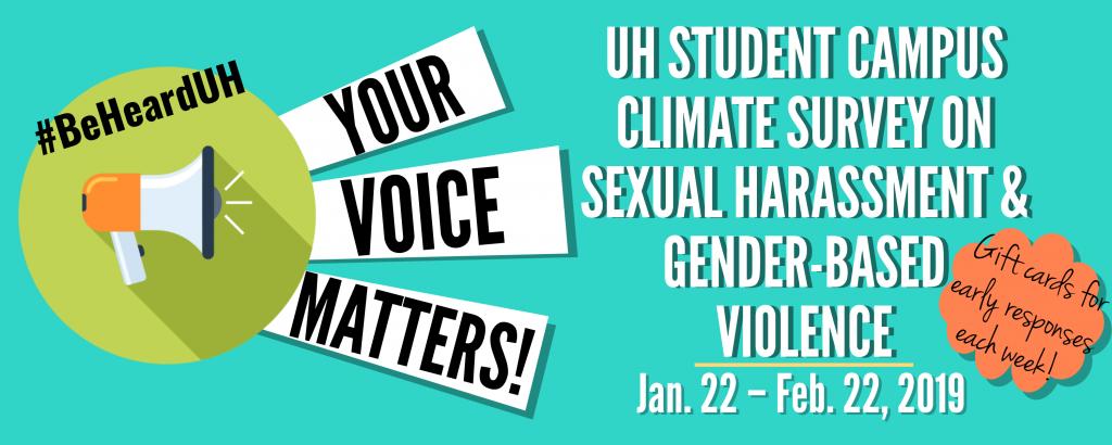 2019 climate survey banner