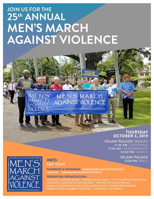 25th Mens March Against Violence