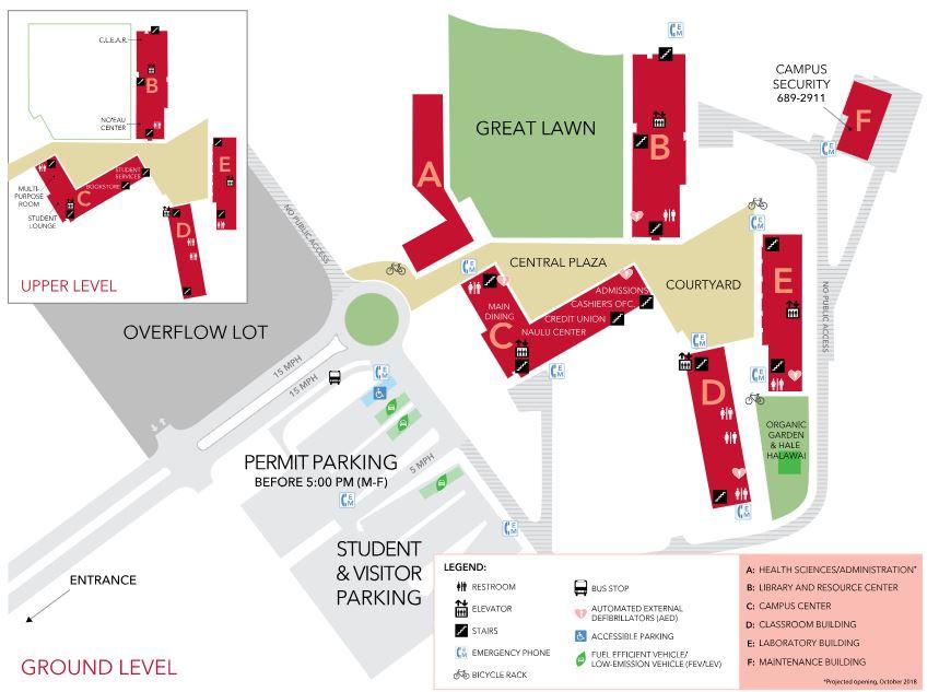Uh West Oahu Campus Map | autobedrijfmaatje