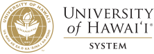 University of Hawaii System seal and nameplate
