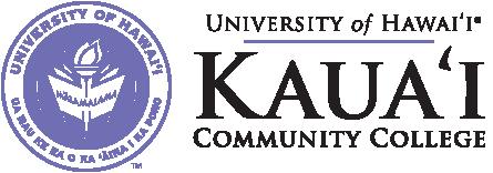 Kauai Community College seal and nameplalte