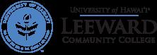 Leeward Community College seal and nameplate