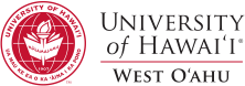 UH West Oahu seal and nameplate