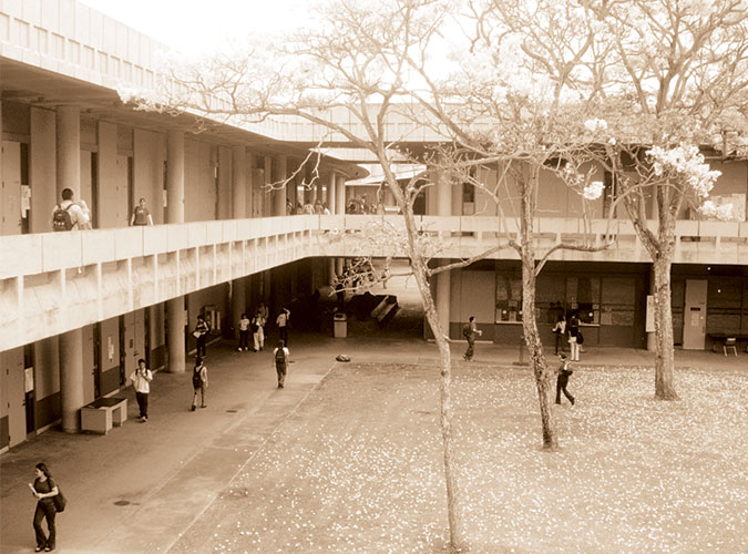 Leeward Community College campus building