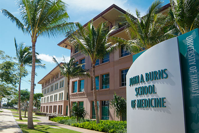 John A. Burns School of Medicine building
