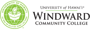 Windward Community College seal and nameplate