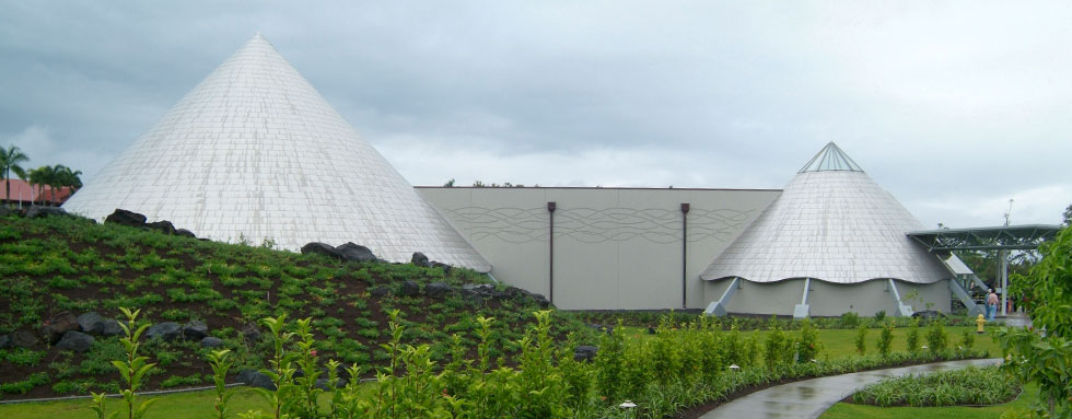 Imiloa Astronomy Center at U H Hilo