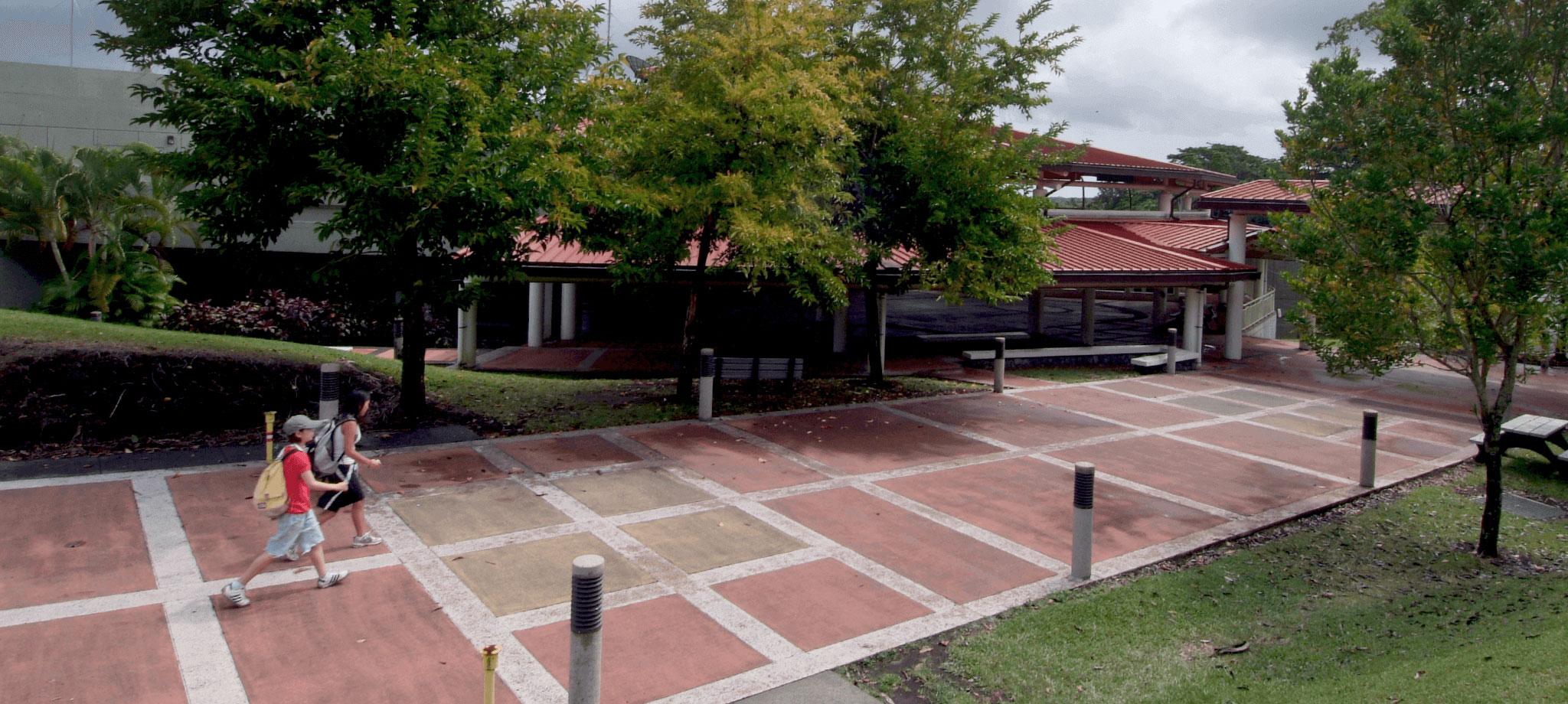 Hilo Campus Walkway