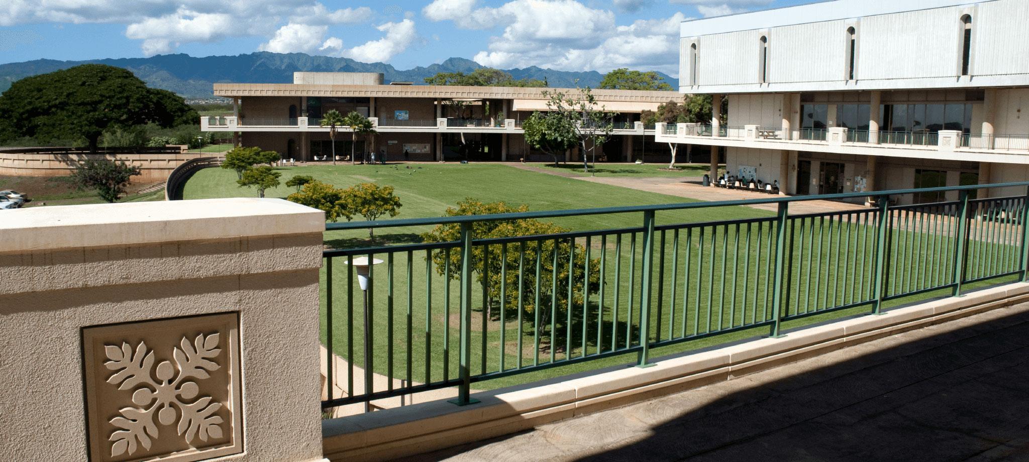 Leeward Community College Campus Lawn