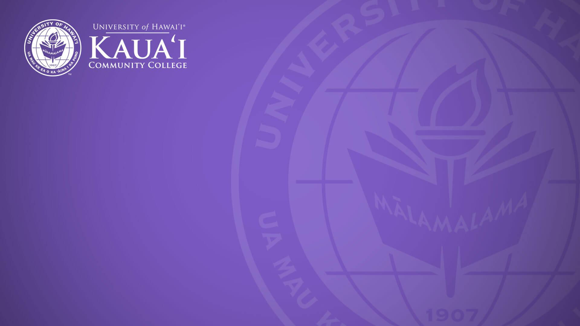 Kauai C C seal and nameplate
